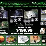 ArmageddonWorld.com, Alpha Series, Product Listing