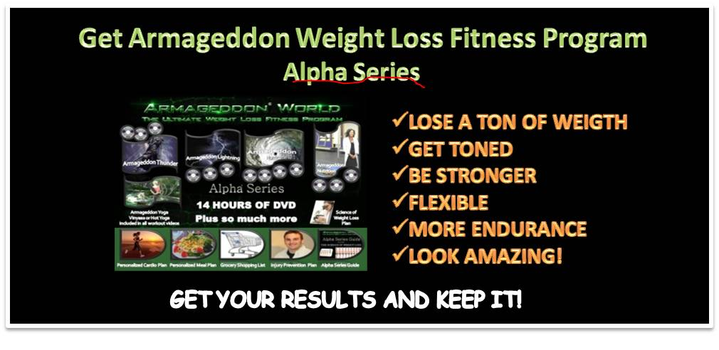 Armageddon Weight Loss Fitness Program - Get your results ...