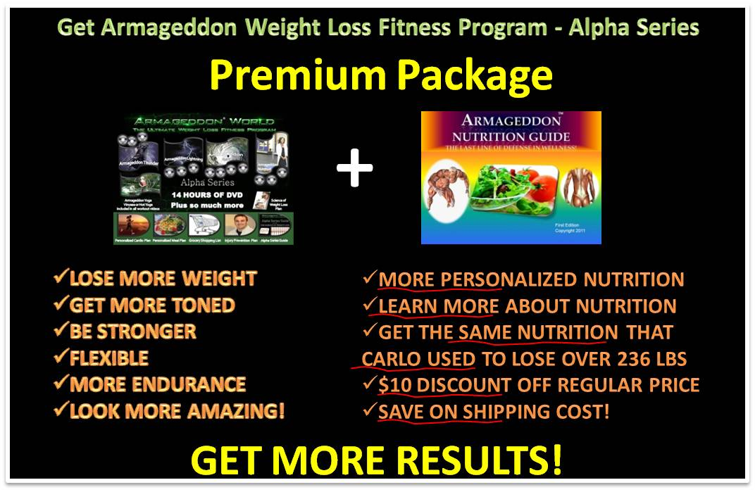 ArmageddonWorld.com - The Ultimate Weight Loss Fitness ...