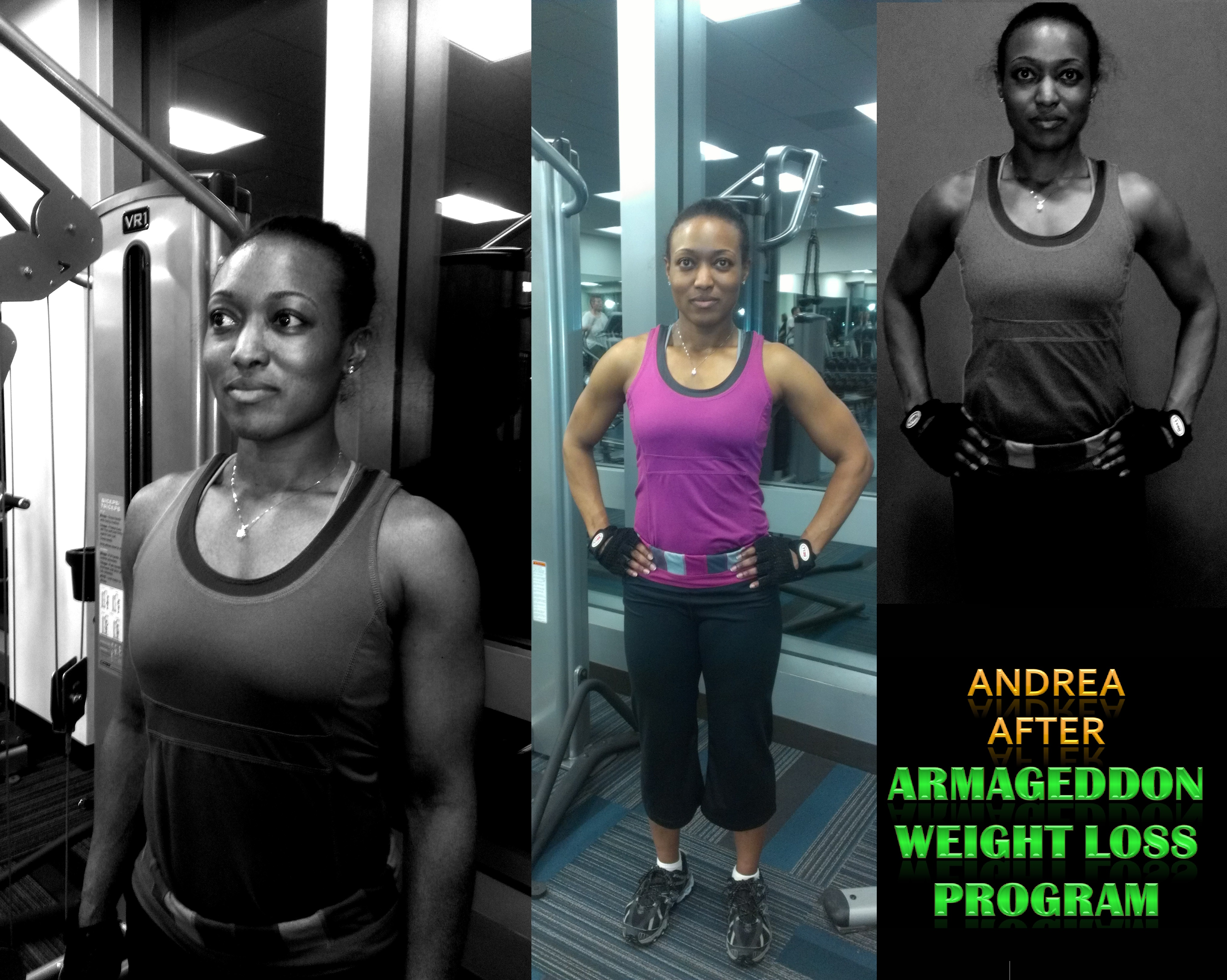 Andrea After Armageddon Weight Loss Exercise DVD Program Nutrition Program Women Men Fitness