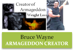 Bruce Wayne - Creator of Armageddon Weight Loss Program - The Best Weight Loss DVD for women and men - Best Exercise DVD