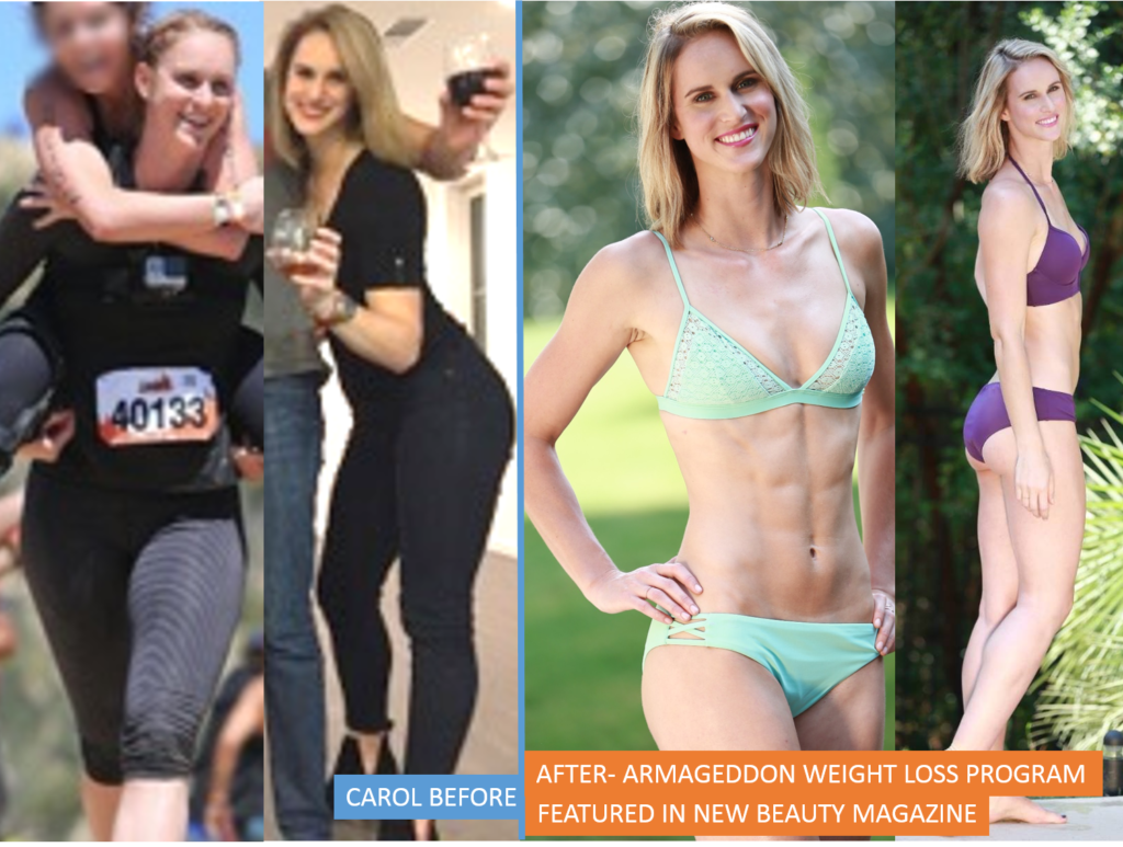 CAROL HELSEL - Before and After Armageddon Weight Loss ...