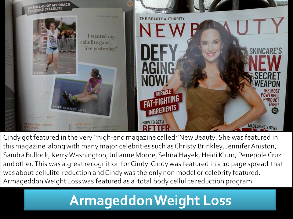 Cindy's Testimonial - Armageddon Weight Loss Fitness DVD Program - Best Weight Loss DVD for women and men- New
