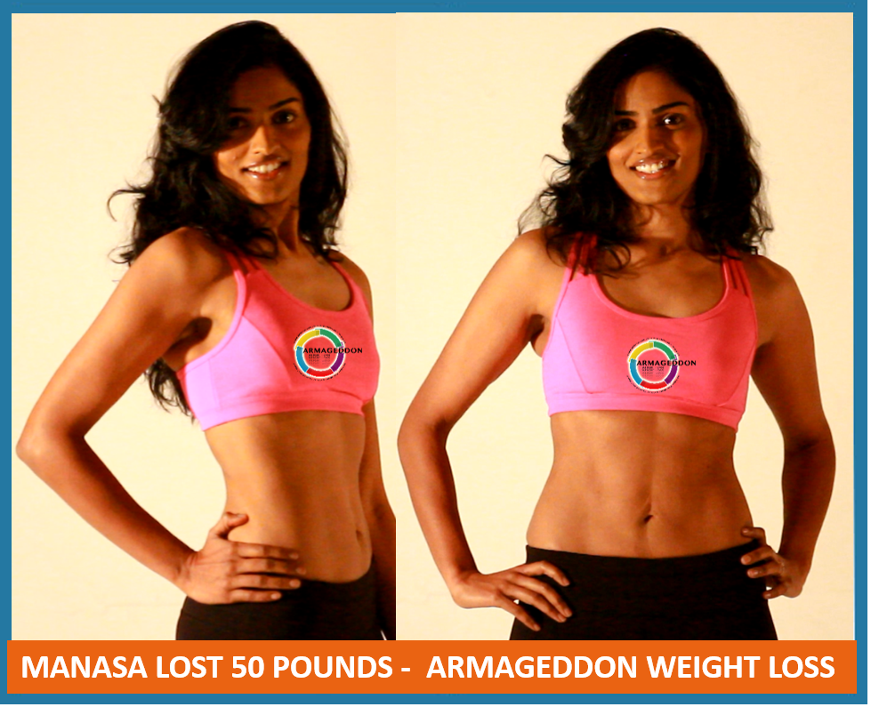Manasa Reddy - Armageddon Weight Loss DVD Program - Best weight loss DVD for women and men - Best exercise DVD program - get rid of cellulite fast, fast weight loss- 50 pounds, vegetarian - 1- -13- 9 2017