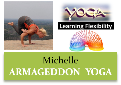 Michelle - Yoga Instructor - Armageddon Weight Loss DVD Program - Best weight loss DVD for men and women, best exercise dvd