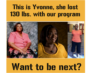 Yvonne - before and after Armageddon Weight Loss - The best weight loss DVD for women and men - Best exercise DVD for women and men - 3