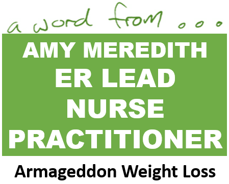 Amy meredith er nurse practitioner best exercise dvd How to lose weight on slimming world