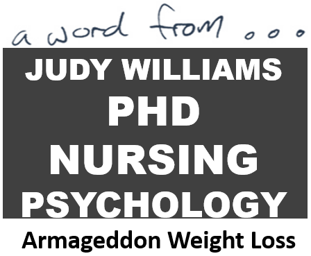 Judy williams rn phd weight loss tips for women How to lose weight on slimming world