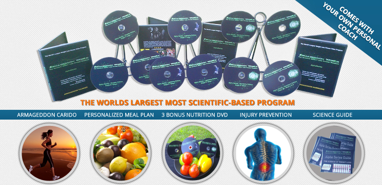Armageddon Weight Loss - Best Weight Loss DVD for women and men