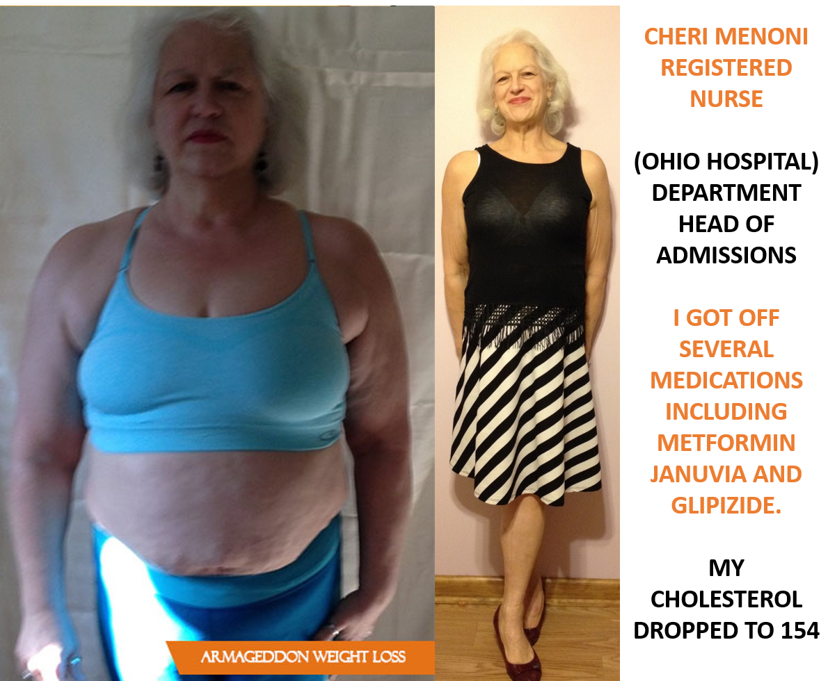 Cheri Menoni Registered Nurse - Armageddon Weight Loss - Best weight loss DVD for women - before and after today - amazing 2016