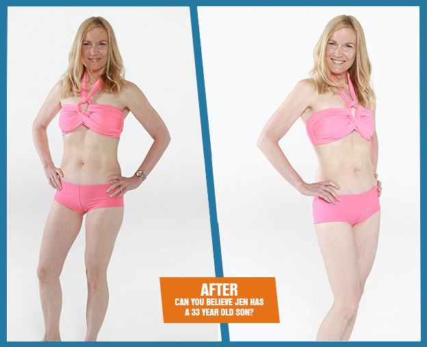 Jen after Armageddon Weight Loss - Best weight loss DVD program for women over 40