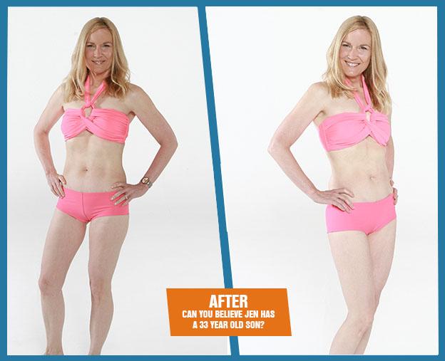 Jen after Armageddon Weight Loss - Best weight loss DVD program for women over 40