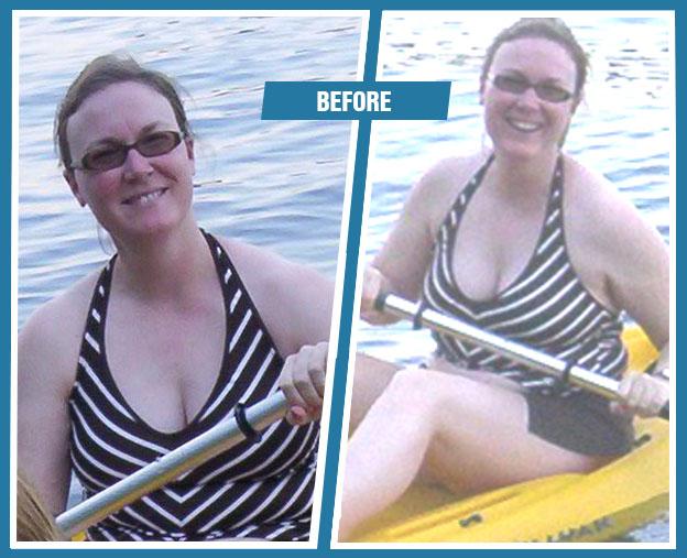 Jen before Armageddon Weight Loss - Best weight loss DVD program for women