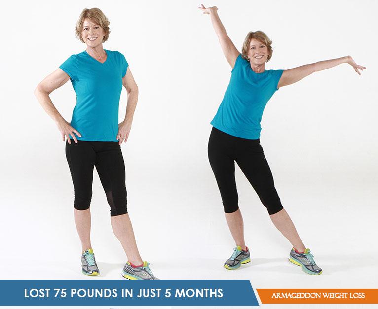 Susan Evans - Armageddon Weight Loss