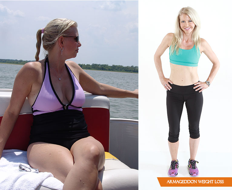 Tamara Jarrous RN, before Armageddon Weight Loss - Best weight loss program for women