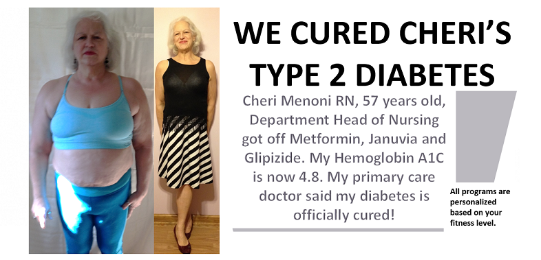 Cheri Menoni Registered Nurse Department Head Of Admissions Before And After Armageddon Weight Loss Cured Her Type 2 Diaes 1
