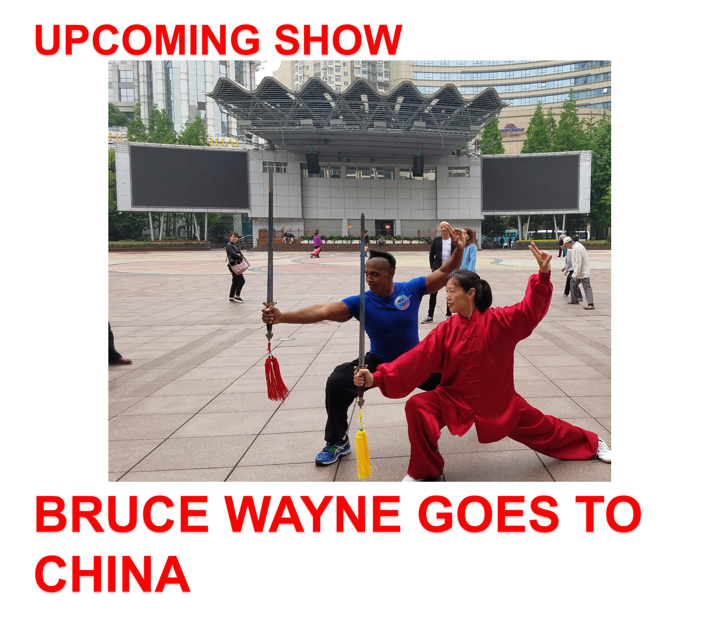 BRUCE WAYNE GOES TO CHINA - ARMAGEDDON WEIGHT LOSS DVD PROGRAM - DOCSCIENCE - RADIO SHOW - BEST WEIGHT LOSS DVD FOR WOMEN