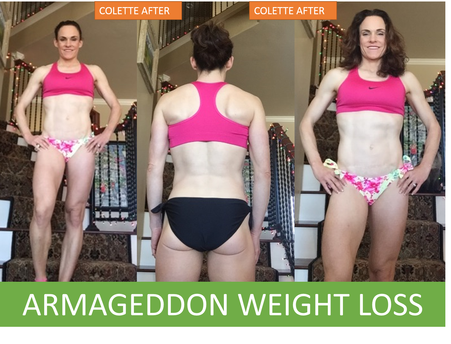 COLETTE STEWART - CORRIE ROSE - ARMAGEDDON WEIGHT LOSS RADIO SHOW - BEST WEIGHT LOSS DVD FOR WOMEN - BRUCE WAYNE, DOCSCIENCE-3 -